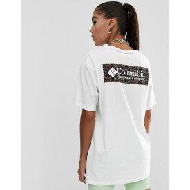 コロンビア Columbia レディース トップス Tシャツ【North cascades t-shirt in shadow print】White