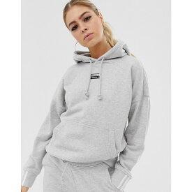 アディダス adidas Originals レディース トップス パーカー【RYV hoodie in grey】Grey