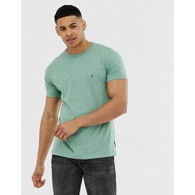 フレンチコネクション French Connection メンズ トップス Tシャツ【crew neck t-shirt】Green