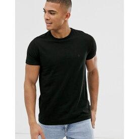 フレンチコネクション French Connection メンズ トップス Tシャツ【crew neck t-shirt】Black