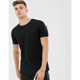 ヒューゴ ボス BOSS メンズ トップス Tシャツ【Hugo Boss Depusi t-shirt】Black