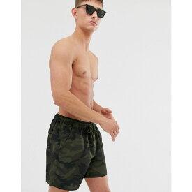 フレンチコネクション French Connection メンズ 水着・ビーチウェア 海パン【Camo Swim Shorts】Camo