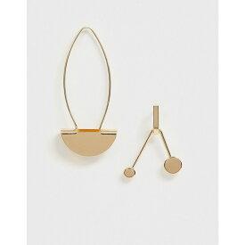 フレンチコネクション French Connection レディース ジュエリー・アクセサリー イヤリング・ピアス【mismatch earrings】Gold