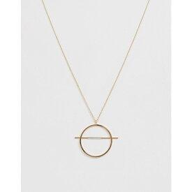 フレンチコネクション French Connection レディース ジュエリー・アクセサリー ネックレス【strikethrough necklace】Gold