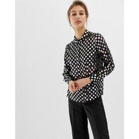 ウェアハウス Warehouse レディース トップス ブラウス・シャツ【shirt in metallic spot print】Multi