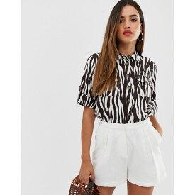 ウェアハウス Warehouse レディース トップス ブラウス・シャツ【shirt in zebra print】Multi