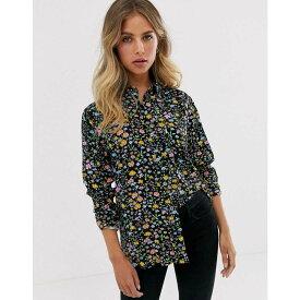 リーバイス Levi's レディース トップス ブラウス・シャツ【ultimate boyfriend shirt in floral】Dunsmuir floral mete