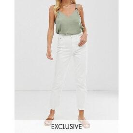 ウェアハウス Warehouse レディース ボトムス・パンツ ジーンズ・デニム【slim cut jeans in white】White