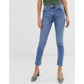 ウェアハウス Warehouse レディース ボトムス・パンツ ジーンズ・デニム【sculpt high rise skinny jeans】Light wash denim