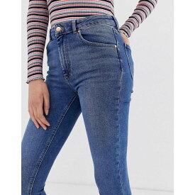 ウェアハウス Warehouse レディース ボトムス・パンツ ジーンズ・デニム【sculpt high rise skinny jeans】Mid wash denim