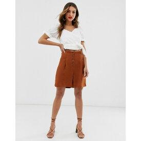ウェアハウス Warehouse レディース ボトムス・パンツ ショートパンツ【shorts with belt in rust】Orange