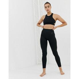 ナイキ Nike Training レディース ヨガ・ピラティス ボトムス・パンツ【Seamless Yoga Leggings In Black】Black/(thunder grey