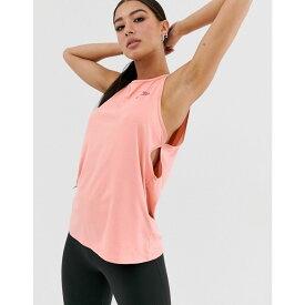 ナイキ Nike Training レディース ヨガ・ピラティス トップス【Nike yoga tank in pink】Pink quartz