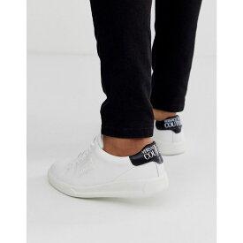 ヴェルサーチ Versace Jeans Couture メンズ シューズ・靴 スニーカー【trainers with logo in white】White