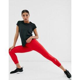 エイソス ASOS 4505 レディース インナー・下着 スパッツ・レギンス【crop run legging】Red
