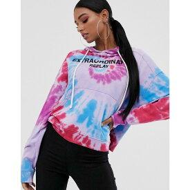 リプレイ Replay レディース トップス パーカー【tie dye hoodie sweater】Multi