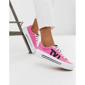 ヴァンズ Vans レディース シューズ・靴 スニーカー【Sid NI trainers in pink】Lady vans azalea pin