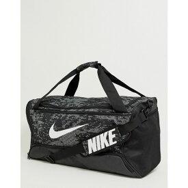 ナイキ Nike Training メンズ バッグ ボストンバッグ・ダッフルバッグ【Brasilia 9.0 holdall bag in camo】Black
