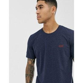 ヒューゴ ボス BOSS メンズ トップス Tシャツ【bodywear neppy logo t-shirt in navy】Navy