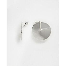 フレンチコネクション French Connection レディース イヤリング・ピアス ジュエリー・アクセサリー【metal plate earrings】Silver