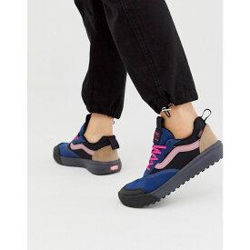 ヴァンズ Vans レディース スニーカー シューズ・靴【UltraRange blue and pink trainers】Gibraltar sea/ebony