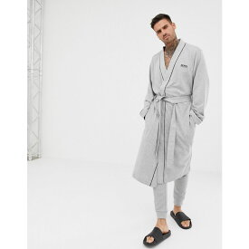 ヒューゴ ボス BOSS メンズ ガウン・バスローブ インナー・下着【dressing gown】Grey