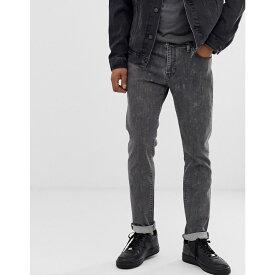 リーバイス Levi's メンズ ジーンズ・デニム ボトムス・パンツ【511 slim fit low rise jeans in porcini bleach advanced black wash】Porcini bleach advan