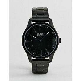 ヒューゴ ボス HUGO メンズ 腕時計 ブレスレットウォッチ【1530040 dare bracelet strap watch in black】Black