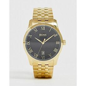 ヒューゴ ボス BOSS メンズ 腕時計 ブレスレットウォッチ【1513739 master bracelet watch】Gold