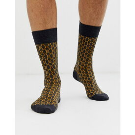 ヒューゴ ボス BOSS メンズ ソックス インナー・下着【hb logo socks in dark grey】Dark grey