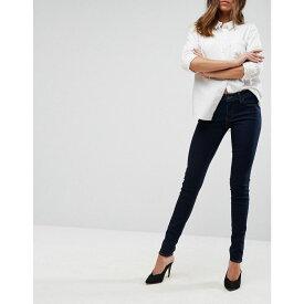 リーバイス Levi's レディース ジーンズ・デニム ボトムス・パンツ【711 mid rise skinny jeans】Lone wolf blue