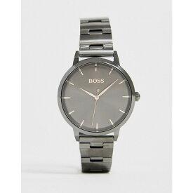 ヒューゴ ボス BOSS レディース 腕時計 ブレスレットウォッチ【1502503 marina bracelet watch in gunmetal】Grey