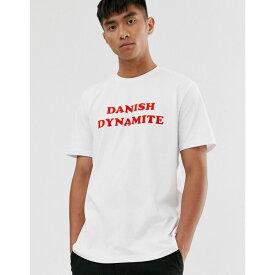 ヒュンメル Hummel メンズ Tシャツ トップス【danish dynamite t-shirt】White