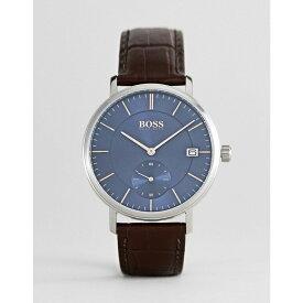 ヒューゴ ボス BOSS メンズ 腕時計 【1513639 corporal leather watch】Brown