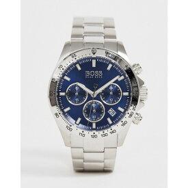 ヒューゴ ボス BOSS メンズ 腕時計 ブレスレットウォッチ【1513755 hero sport lux bracelet watch】Silver