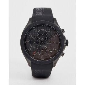 ヒューゴ ボス BOSS メンズ 腕時計 【1513720 velocity athleisure silicone watch】Black