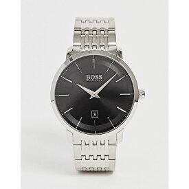 ヒューゴ ボス BOSS メンズ 腕時計 ブレスレットウォッチ【1513746 premium classic bracelet watch】Silver