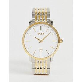 ヒューゴ ボス BOSS メンズ 腕時計 ブレスレットウォッチ【1513747 premium classic bracelet watch】Silver