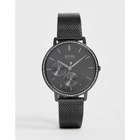 ヒューゴ ボス BOSS メンズ 腕時計 【1502521 infinity mesh watch】Black