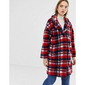 ミニマム Minimum レディース コート アウター【check coat】Navy blazer