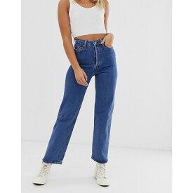 リーバイス Levi's レディース ジーンズ・デニム ボトムス・パンツ【ribcage high waisted straight ankle jeans】Georgie