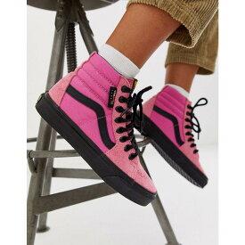 ヴァンズ Vans レディース スニーカー シューズ・靴【sk8-hi cordura pink trainers】Cordura azalea pink/
