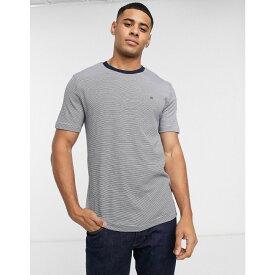カルバンクライン Calvin Klein メンズ Tシャツ トップス【stripe t-shirt】Navy