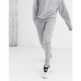 エイソス ASOS DESIGN メンズ ジョガーパンツ ボトムス・パンツ【super skinny joggers in grey marl】Grey marl