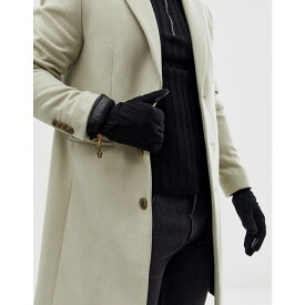 ティンバーランド Timberland メンズ 手袋・グローブ 【electronic touch nubuck suede gloves in black】Black