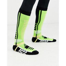 エイソス ASOS 4505 メンズ ソックス インナー・下着【ski socks in neon green】Yellow