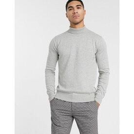 ベンチ Bench メンズ ニット・セーター トップス【knitted roll neck in grey】Grey
