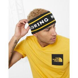 ザ ノースフェイス The North Face メンズ ヘアアクセサリー ヘッドバンド【Chizzler retro reversible headband in yellow/black】Yellow