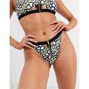 リュクスパーム Luxe Palm レディース ボトムのみ 水着・ビーチウェア【Vine Print Bikini Bottoms with Gold Zip】Mu…