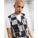 リーバイス LEVIS SKATEBOARDING メンズ ベスト・ジレ トップス【Levi's Skateboarding utility vest in black】Black